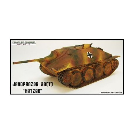 SdKfz 138/2 HETZER Tank Destroyer 1/50th