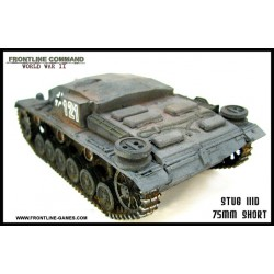 WWII German Sturmgeschutz III Ausf. D 1/50th