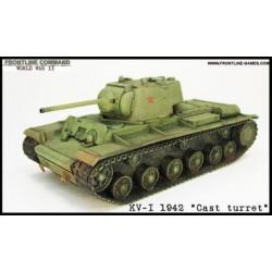 "KV-1 KLIMENT VOROSHILOV"" 1942 Russian Heavy Tank """