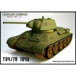 Russian T34/76 1943 Medium Tank 1/50th/28mm