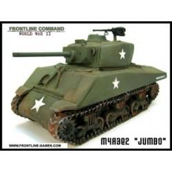 "M4A3E2 Sherman JUMBO"" 75mm 1/50th"""