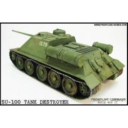 SU-100 Russian Tank Destroyer