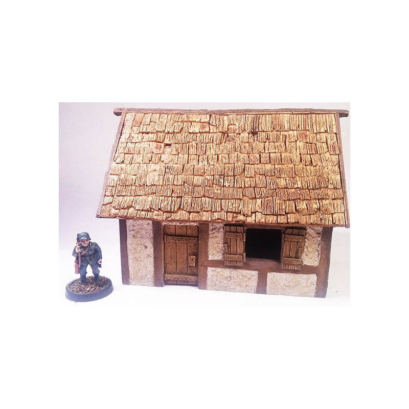 Half Timbered Village House 1 Frontline Games