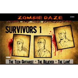 SURVIVORS 1 -  Zombie Daze Expansion Set