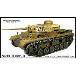 WWII German PzKpfw IIIM Tank 1/50th