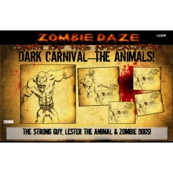 "Dark Carnival ""The Animals!"" - Zombie Daze Expansion Set"
