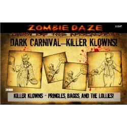 "Dark Carnival ""KILLER-KLOWNS!"" - Zombie Daze Expansion Set"