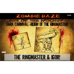"Dark Carnival ""REIGN OF THE RINGMASTER!"" - Zombie Daze Expansion!"