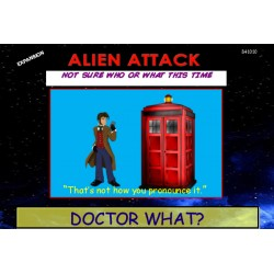 DOCTOR WHAT?! Alien Attack! Expansion
