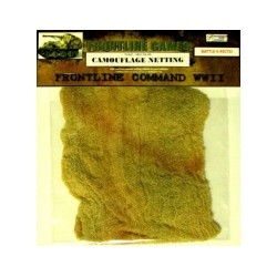 BATTLE E-FECTS Camouflage netting TRI COLOR