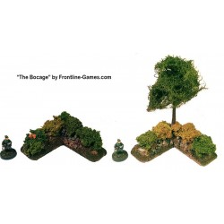 THE BOCAGE - Hedgerow Corner sections set 1