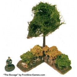 THE BOCAGE - Hedgerow Corner section C