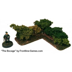 THE BOCAGE - Hedgerow Corner section A