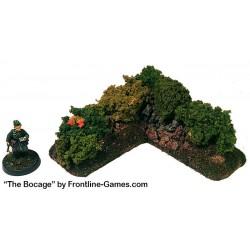 THE BOCAGE - Hedgerow Corner section D