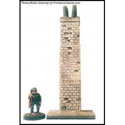 SPECIAL HOLIDAY DEAL - Small Brick/Stone Chimney