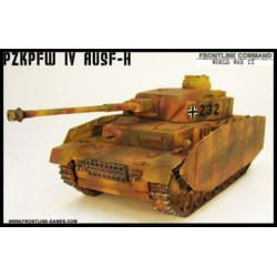 German PzKpfw IV ausf H Tank 1/50th