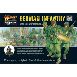 WARLORD GAMES WWII Late War German Infantry boxed set