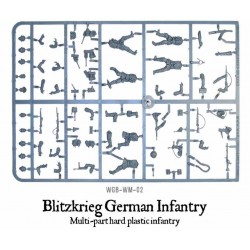 WARLORD GAMES WWII Blitzkrieg German Infantry Sprue