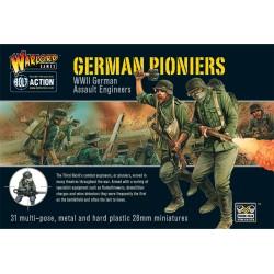 WARLORD GAMES WWII German Pioniers Assault Engineers