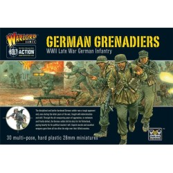 WARLORD GAMES German Grenadiers Boxed set
