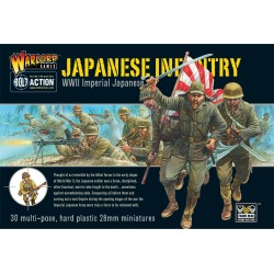 WARLORD GAMES WWII Imperial Japanese Infantry