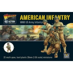 WARLORD GAMES U.S. Infantry Boxed Set