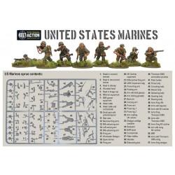WARLORD GAMES U.S. Marines sprues