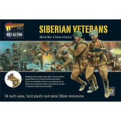 WARLORD GAMES Siberian Veterans boxed set