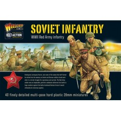 WARLORD GAMES Soviet Infantry boxed set