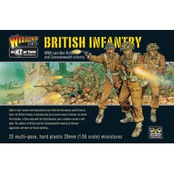 WARLORD GAMES British Infantry  Boxed Set