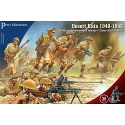 PERRY MINIATURES Desert Rats 1940-43 Boxed Set