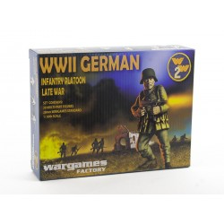 Wargames Factory 28mm Plastic Multi-part WWII German Infantry Platoon