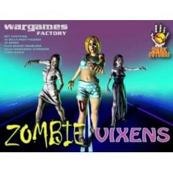 Wargames Factory Zombie Vixens!  36 plastic female Zombies miniatures.