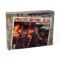 Wargames Factory - Apocalypse Survivors: The Men Boxed Set