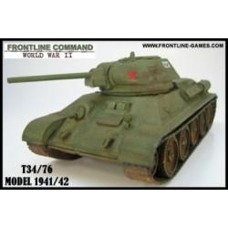Russian T34/76 1941 Medium Tank 1/50th/28mm