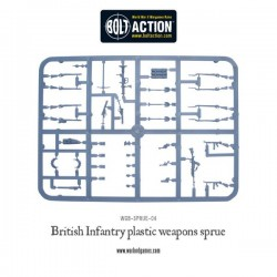 WARLORD GAMES WWII British weapons Sprues