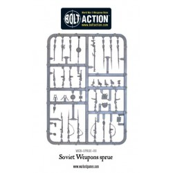 WARLORD GAMES Soviet Weapons sprue