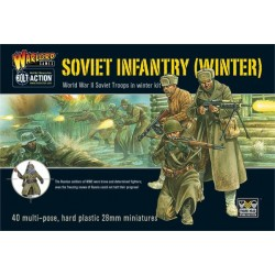 WARLORD GAMES Soviet Winter Infantry plastic box set
