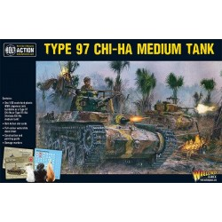 WARLORD GAMES WWII Japan Chi-Ha tank Medium Plastic Tank