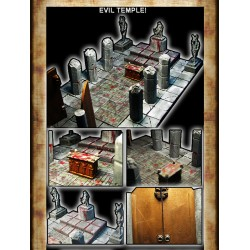 STONES ROOMS - EVIL TEMPLE!