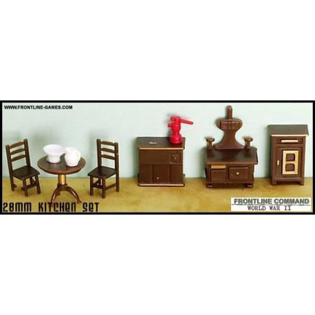28mm Furniture   Kitchen Set