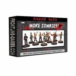MORE ZOMBIES! Zombie Daze Expansion Set
