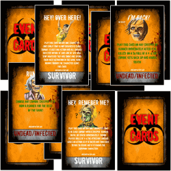 ZOMBIE DAZE Event Cards!