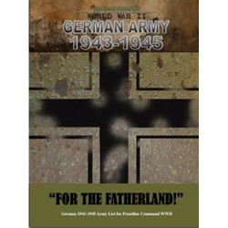 "German Army 1943-1945 ""For the Fatherland!"""