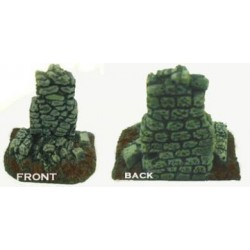 Ruined Stone Chimney
