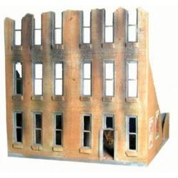 "City block Building 2 Rectangular windows"" Bricked"""