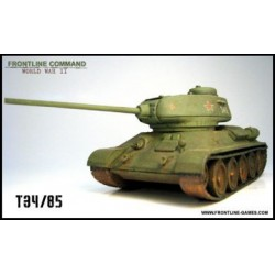 Russian T34/85 Medium Tank 1/50th/28mm scale