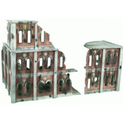 Stackable Ruined City Building 1 Complete set