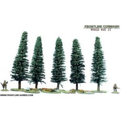 Large Tree/Rock Set