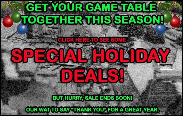 Special Holiday Deals!